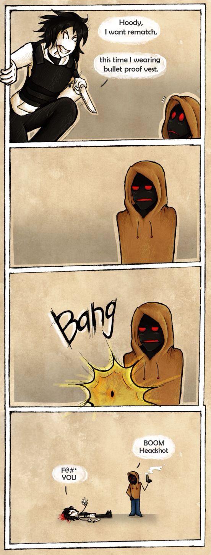 Hoodie vs Jeff [part 2] | Creepypasta | Pinterest ...