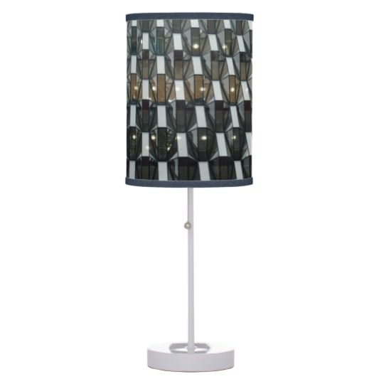 #zazzle #home #office #night #light #gift #giftidea #Structure #Table #Lamp
