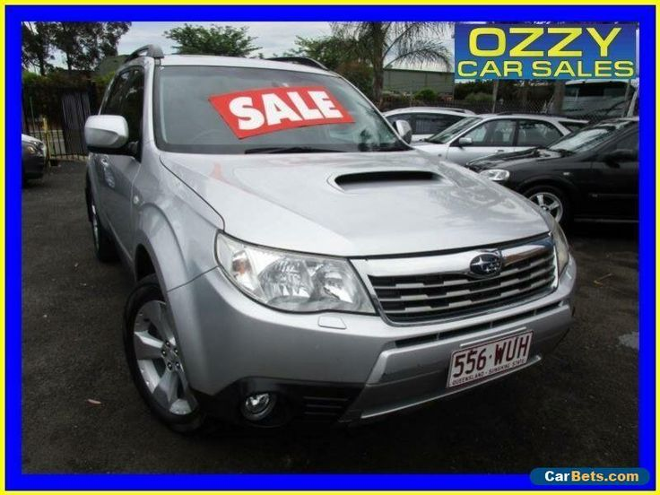 2010 Subaru Forester MY10 XT Premium Silver Manual 5sp M Wagon #subaru #forester #forsale #australia