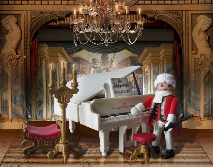 MUSIC HISTORY playmobil ~ AMADEUS MOZART