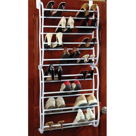 overthedoor shoe rack