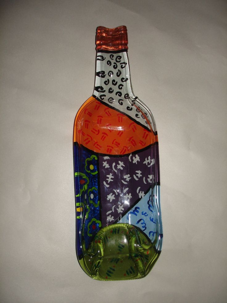19 Best Images About Vidrio Pintado On Pinterest Bottle Manualidades And Vase