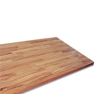 Exclusivholz Massivholzplatte (Eiche, 260 cm x 63,5 cm x 2,6 cm)