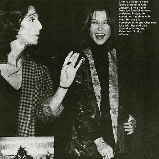 Kate Jackson et Cher