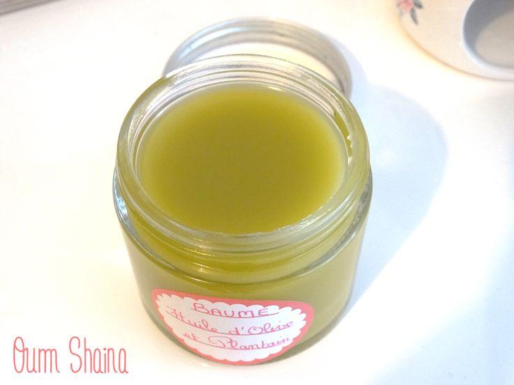 Des mains toutes douces pour l'hiver ! {Recette} Baume au plantain macéré dans de l'huile d'olive et cire d'abeille