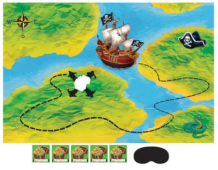 Buried Pirate Treasure Game - Jake and the Never Land Pirates Kids Party Supplies at up to 50% off with Same Day Processing & Free Shipping from Parties4Kids