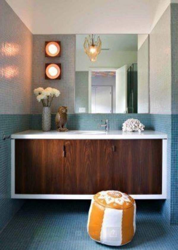 37 Amazing Mid Century Modern Bathrooms To Soak Your Senses