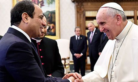 Vatican-Muslim dialogue to restart in April, Vatican says. The Vatican and Egypt's prestigious Sunni Muslim center of Al-Azhar are resuming their dialogue, at a time that Egypt under President Abdel-Fattah el-Sissi is pressing its campaign against Islamic extremism both at home and across the Middle East.
