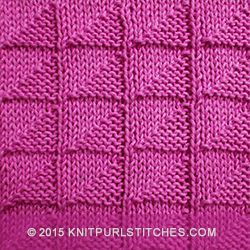 Knit - Purl stitches