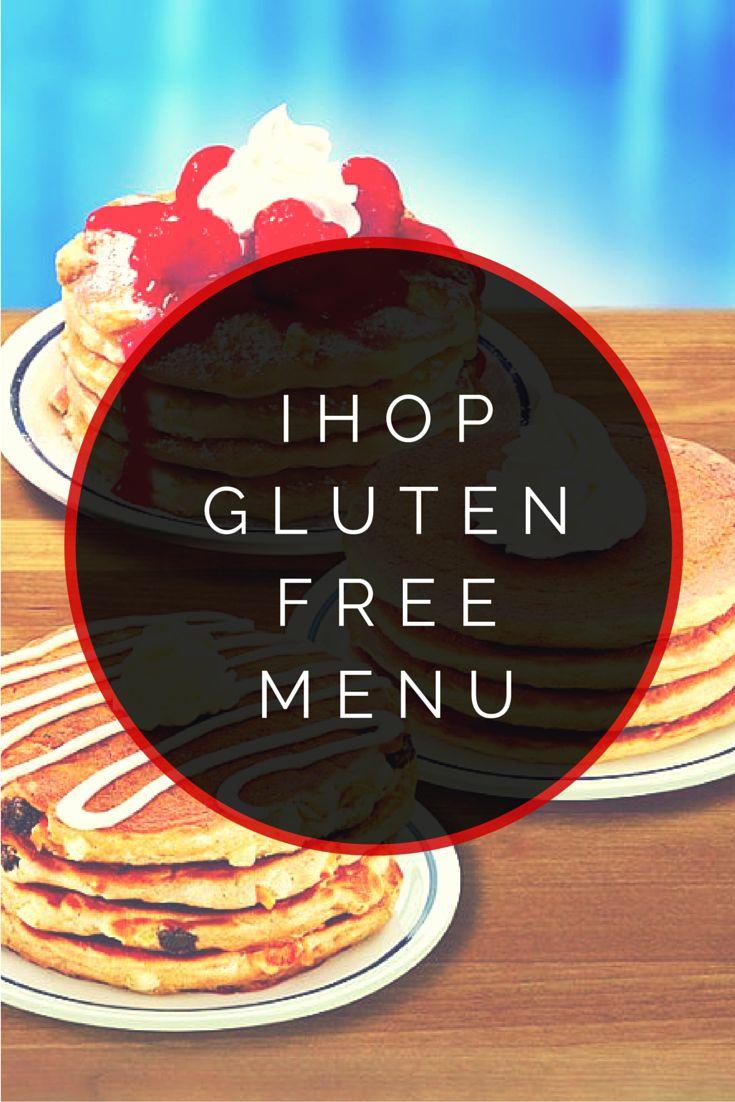 IHOP Gluten Free Menu #glutenfree