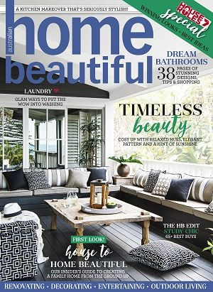 Homebeautiful Magazines Covers July 2017 Design Lifestyle Australian