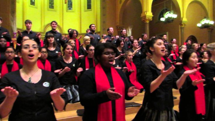 """Wairua Tapu"" - Boston City Singers And New Zealand Youth Choir Sing - B..."