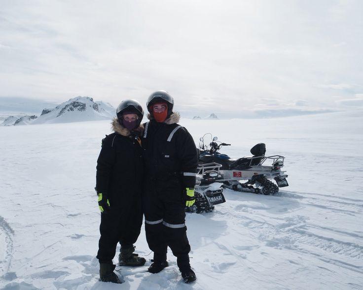 Langjökull glaciär