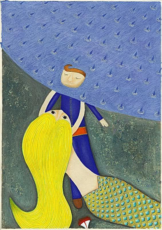 "Alice Guicciardi, ""The Little Mermaid""."