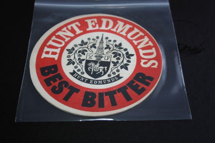 1963 Beermat Hunt Edmunds (Banbury) Cat 014 (2G09 10/14)
