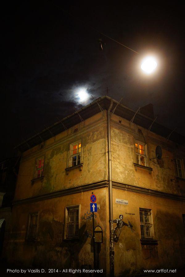 Kazimierz by night via @artfot #streetphotography