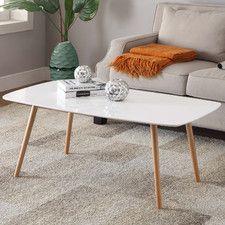 Matrix Koryo Wood Veneer Lift Top Rectangular Coffee Table | AllModern