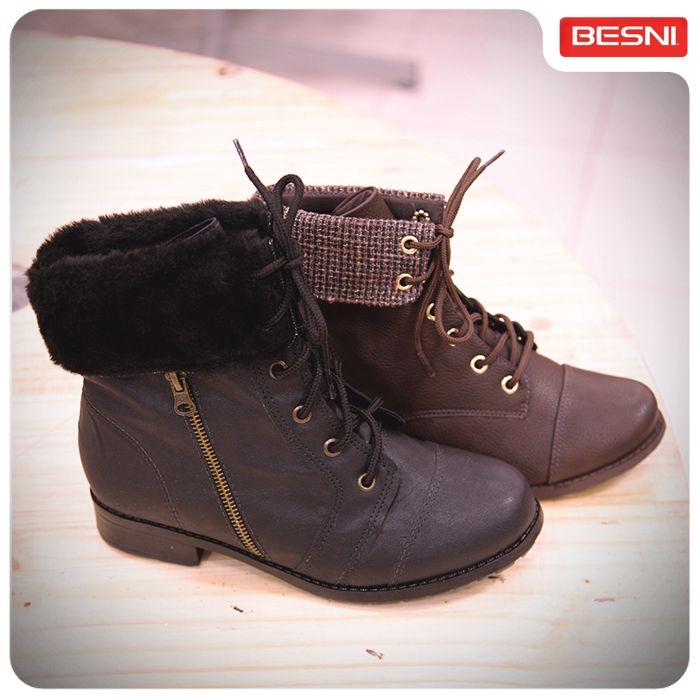 Mais atitude ao caminhar! Qual desses coturnos mais combinam com você? #botas #atitude #Besni #combinacomvocê