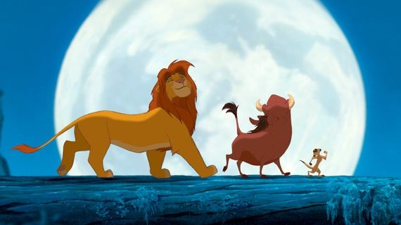 60. lion king (rowan atkinson). 'hakuna matata, it means no worries for the rest of your days.'