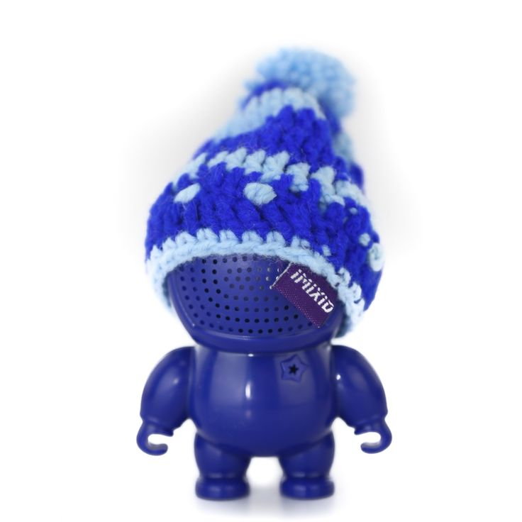 IMIXID AUDIOBOTS 3.0 WIRED BEANIEBOTS- Blue #Audio #Audiobots #Portable #Speaker #Speakerbots #MusicPlayer #SmartPhone #Wired #Beaniebots #Blue