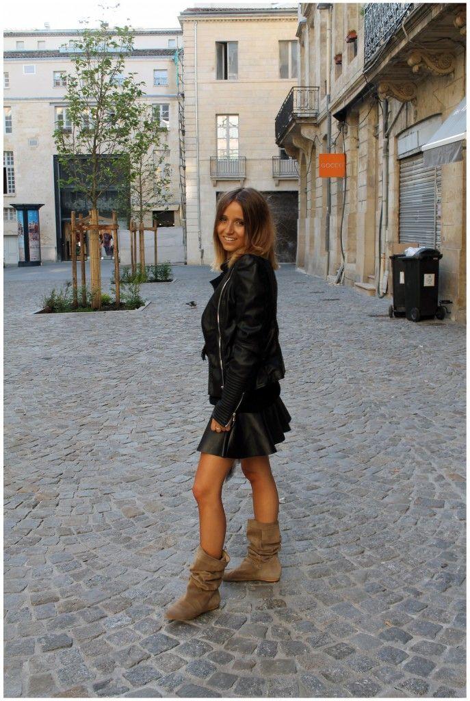 Noholita et sa jupe Mim pour un look Rock