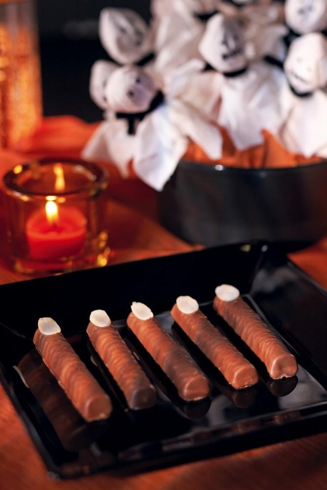 Halloweenin suklaasormet | K-ruoka #halloween