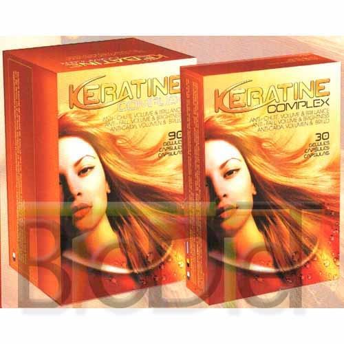Keratine Complex, brillance et volume des cheveux !