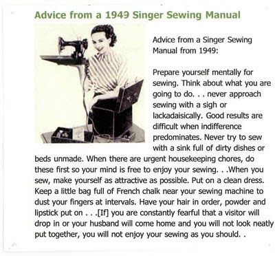 Prepare yourself to sew...