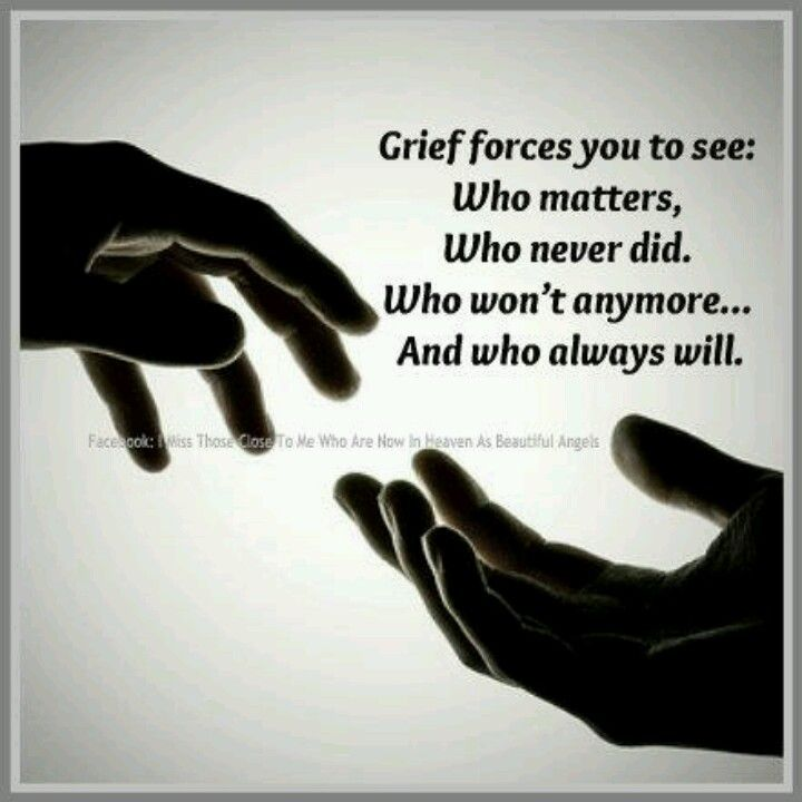 I'll never understand how people do it. I'm dealing with two different griefs right now. It's unbearable~really really hard. Tears.....