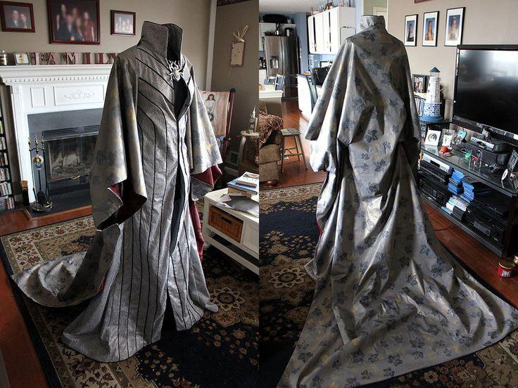 Thranduil Cosplay Robe and Cloak by Xelhestiel.deviantart.com on @DeviantArt