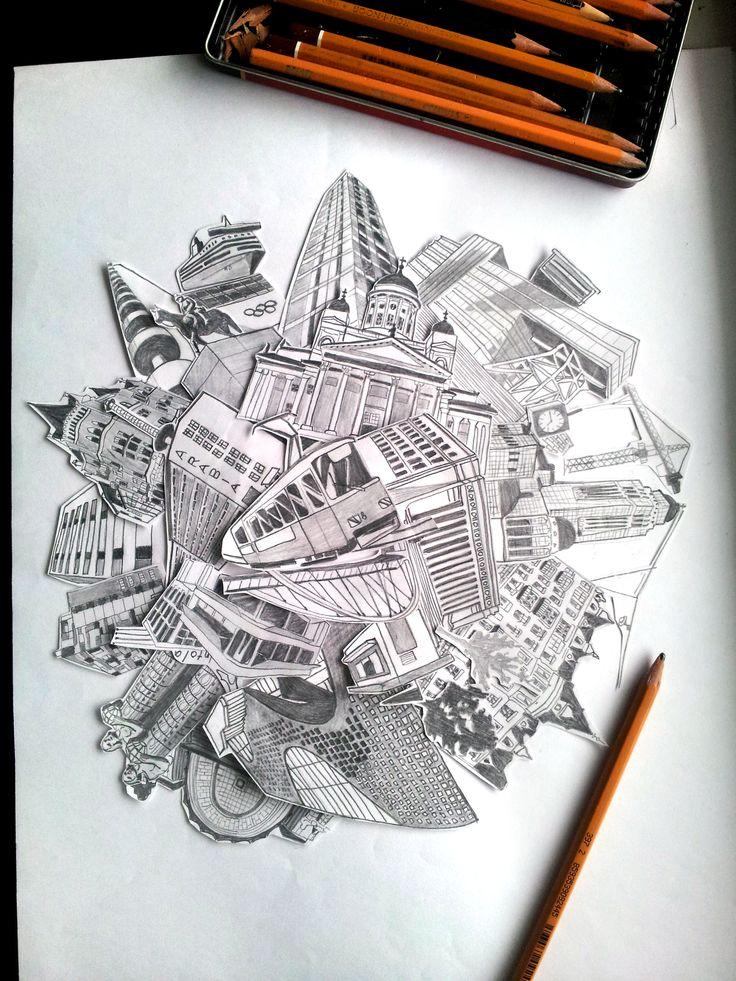 Kellon Alla sketch by Meri Malmi