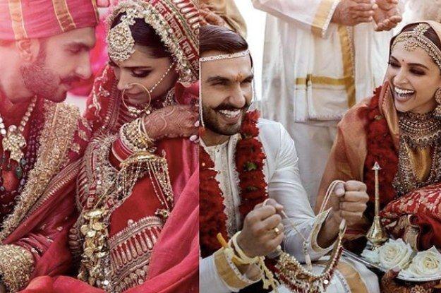 Nagada Sang Dhol Baje Because We Finally Got Pictures Of The Deepveer Wedding Bollywood Wedding Deepika Padukone Ranveer Singh