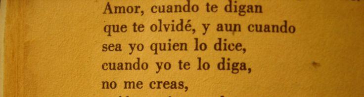 Los versos del Capitán - La carta en el camino - Pablo Neruda