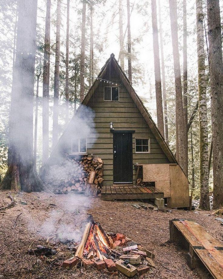 298 besten Cabin Living Bilder auf Pinterest | Holzhütten ...