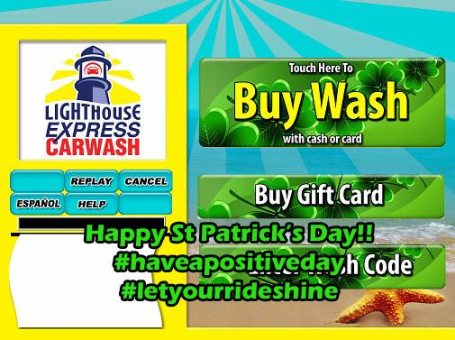 St Patrick's Day Deal | Lighthouse Express Car Wash