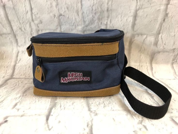 High Mountain Blue Fanny Pack Waist Hiking Bag Vintage | Sporting Goods, Outdoor Sports, Camping & Hiking | eBay!