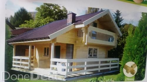 2 storey timber cabin, special deal this weekend