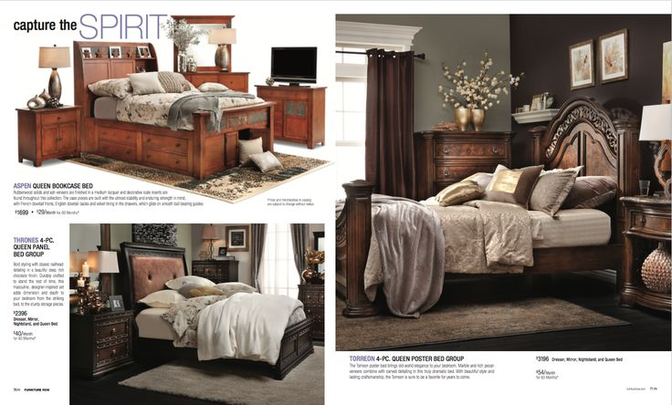 Furniture Row Wright Bedroom