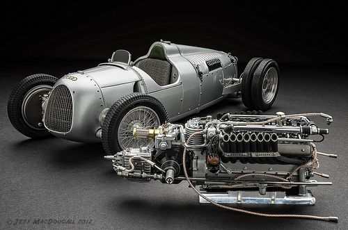 Auto Union Type C hillclimb 1936 //