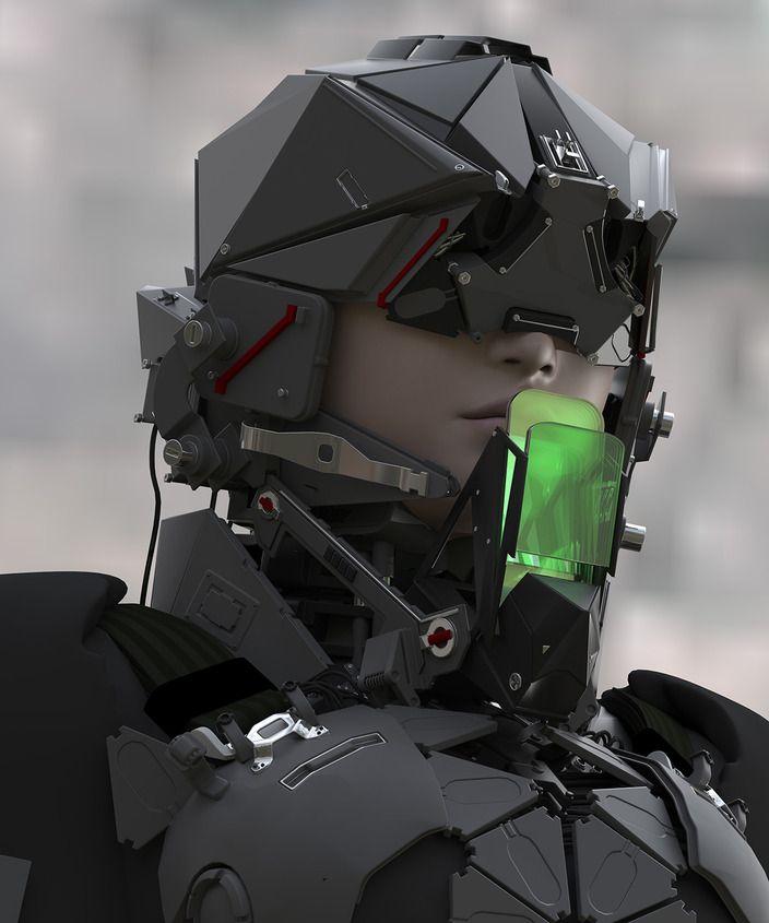 Insanely Detailed Military Sci-Fi Art - 2075 TROOPER — GeekTyrant