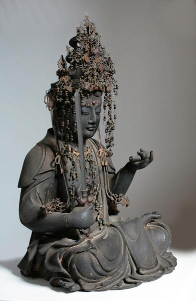 Monju Bosatsu (Manjushri) #buddha #buddhism #sculpture #statue #art
