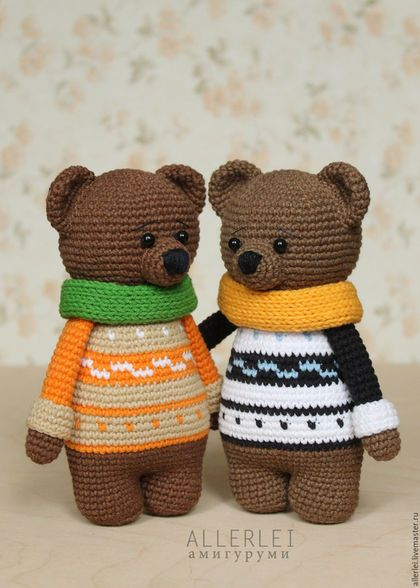 Toy animals, handmade. Bear in green LICs. Knitted toy bear. Knitted teddy bear…
