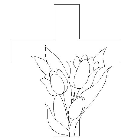 Coloring Pages Of Crosses With Flowers. cross and flowers Colouring Pages 107 best  MosaicTemplates images on Pinterest Free mosaic