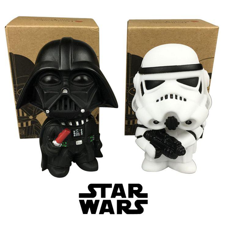 2 pz Stormtrooper di Star Wars Darth Vader PVC Modello Action Figure Nero Worrior Clone Trooper Omini Bambola Funko Pop Bambino giocattoli in   da Action figure del giocattolo & su AliExpress.com | Gruppo Alibaba