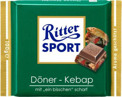 Ritter SPORT - Döner-Kebap - can't stop laughing...