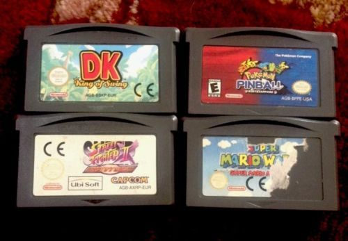 Dk pokemon pinball super mario #world #street fighter 2 revival ds #games x4,  View more on the LINK: http://www.zeppy.io/product/gb/2/152050171758/