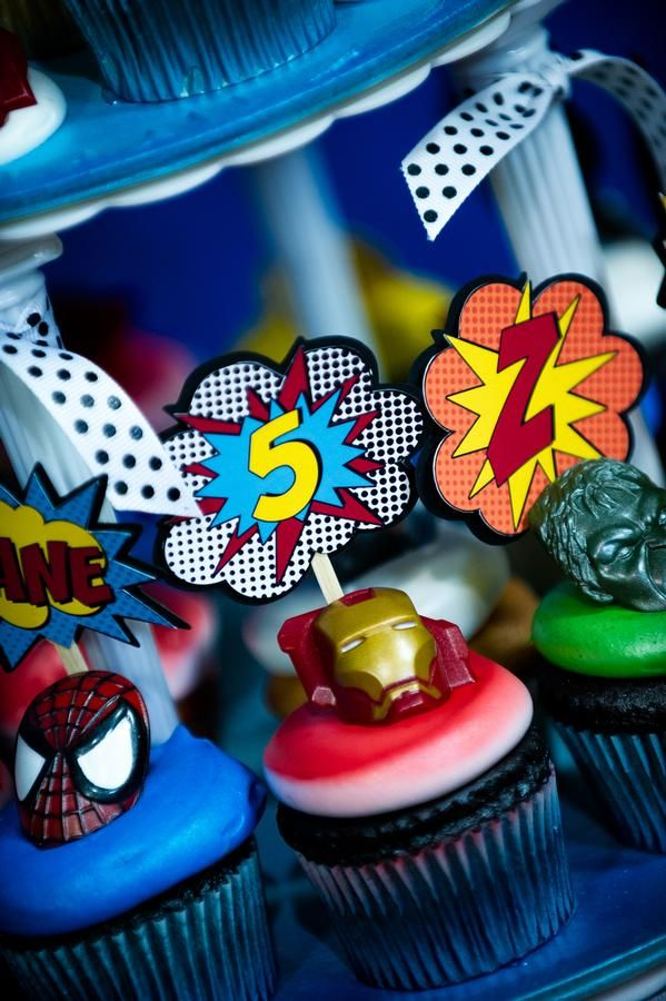 For the Nerd in your Life...superhero party and a list of ideas for themed birthday partys!