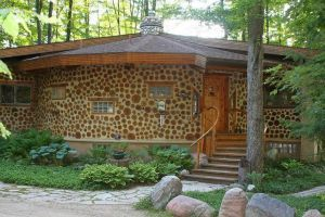 17 best images about cordwood homes on pinterest cob - How to build a cordwood house ...