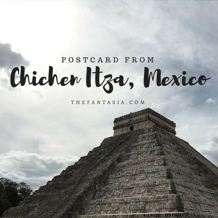 Chichen Itza Day Trip! In case you've ever wanted to do or take a day trip from Cancun to Chichen Itza, you really should!