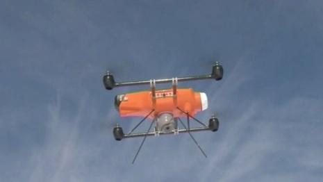 Un drone pour surveiller les pistes de ski - SAM 2012 - France 3 Régions - France 3